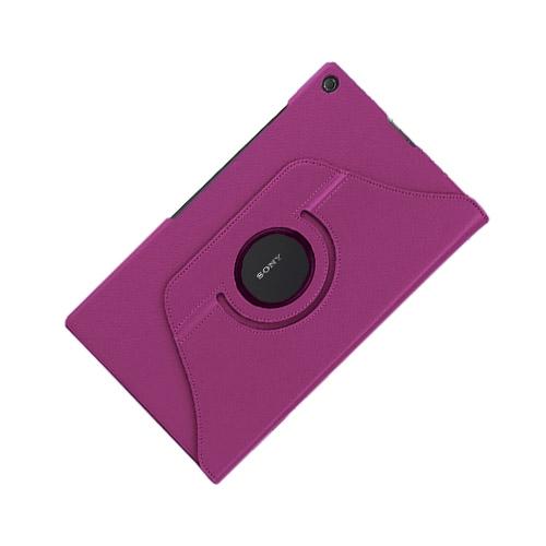 Image of   3-Sixty (Lilla) Sony Xperia Z2 Tablet Læder Flip Etui