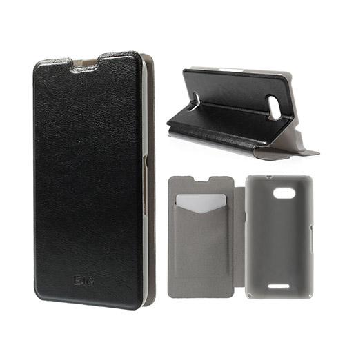 Image of   Amdrup Sony Xperia E4G Med Kortholder - Sort