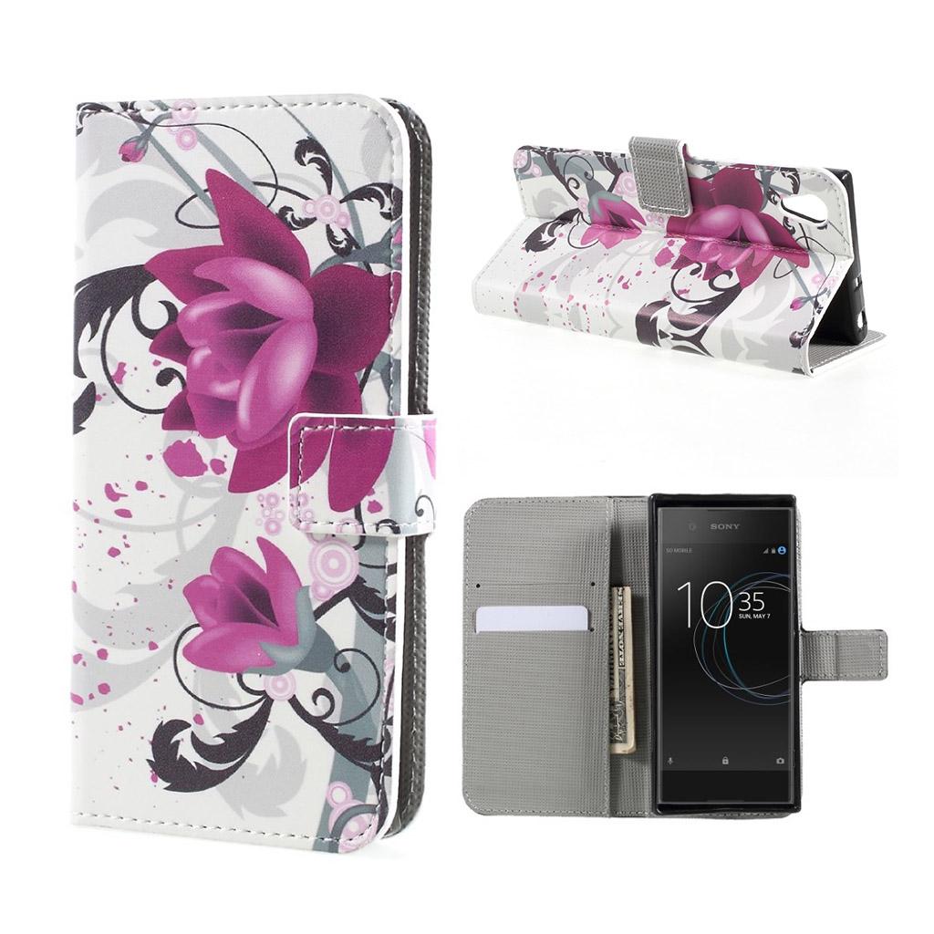 Image of   Sony Xperia XA1 Etui med unik tryk - Smukke blomst