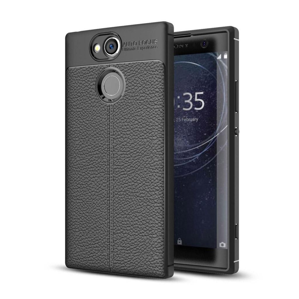 Sony Xperia XA2 silikone cover - Sort