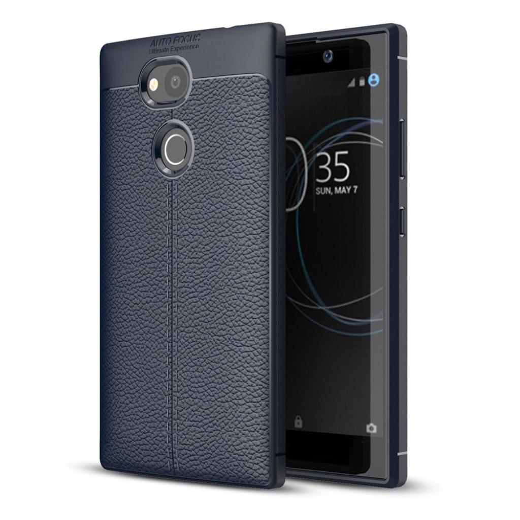Sony Xperia L2 cover i silikone - Mørkeblå
