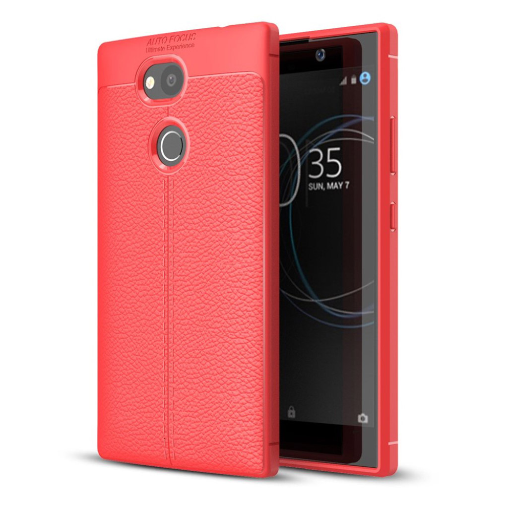 Sony Xperia L2 cover i silikone - Rød