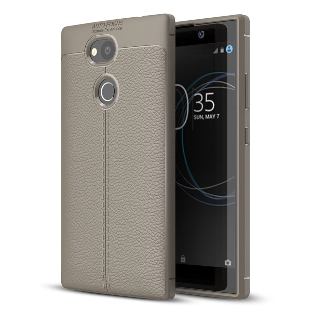 Sony Xperia L2 cover i silikone - Grå