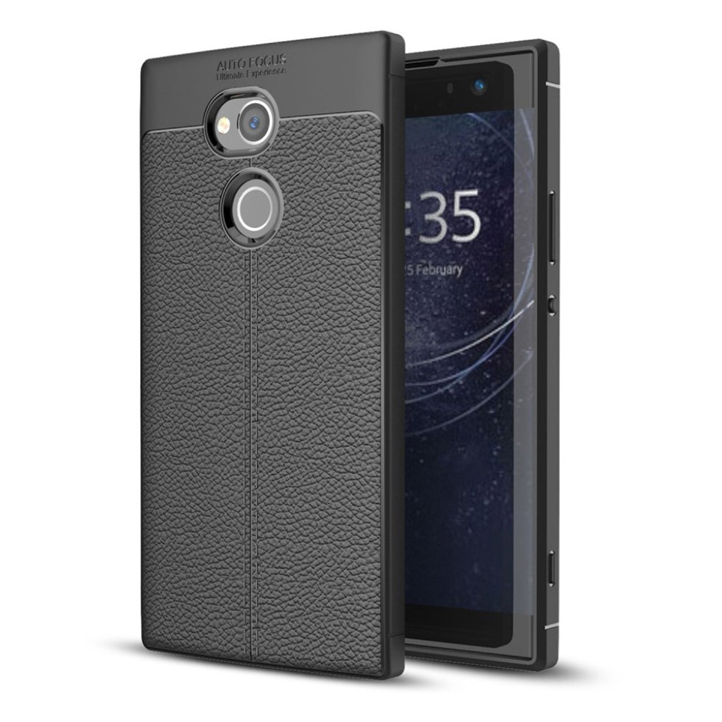 Sony Xperia XA2 Ultra cover i silikone - Sort
