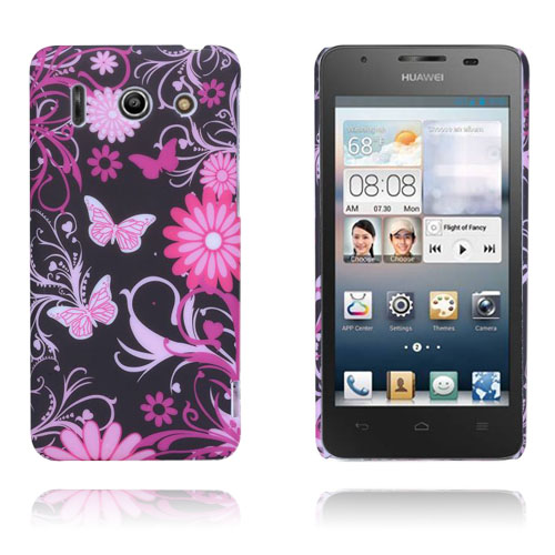 Valentine (Pink Sommerfugle) Huawei Ascend G510 Cover