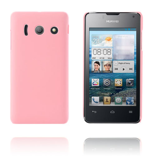 Hårdt cover (Lys Pink) Huawei Ascend Y300 cover