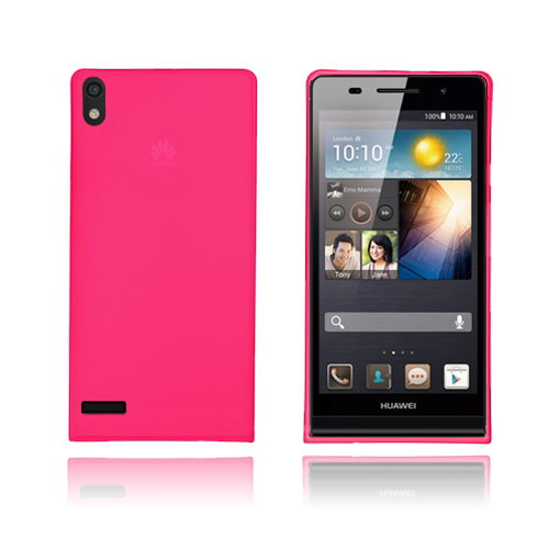 SlimCase (Rød) Huawei Ascend P6 cover