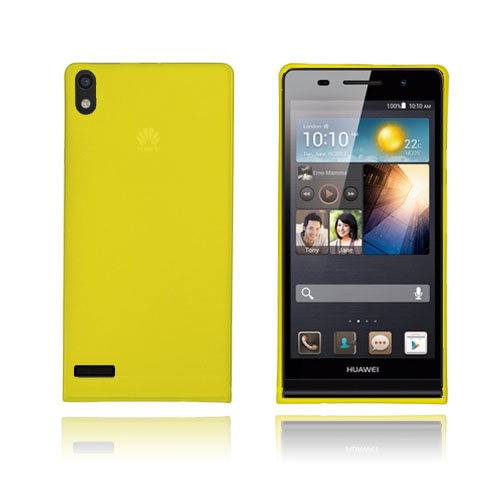 SlimCase (Gul) Huawei Ascend P6 cover
