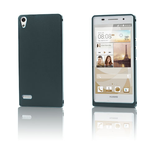 Image of   Alux (Grå) Huawei Ascend P6 Aluminium Cover