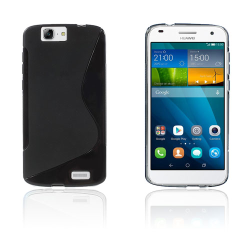 Lagerlöf Huawei AAscend G7 Cover - Sort