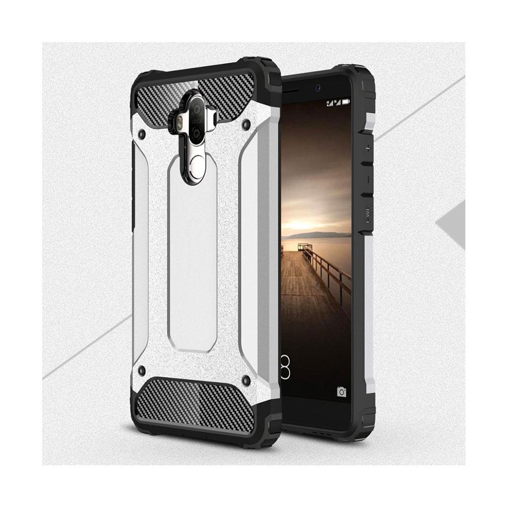 Huawei Mate 9 beskyttende hybridcover - Sølv