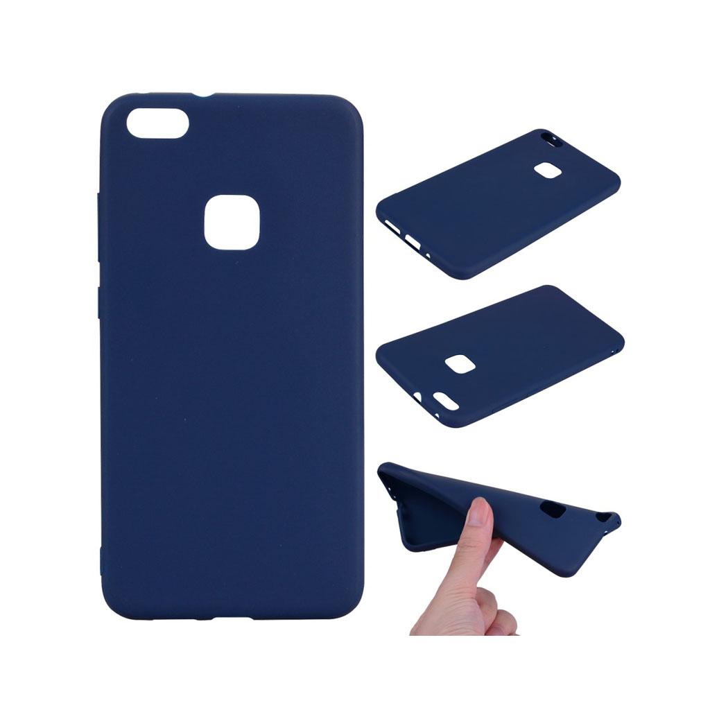 Image of   Huawei P10 Lite Lækker blødt silikone cover - Mørkeblå