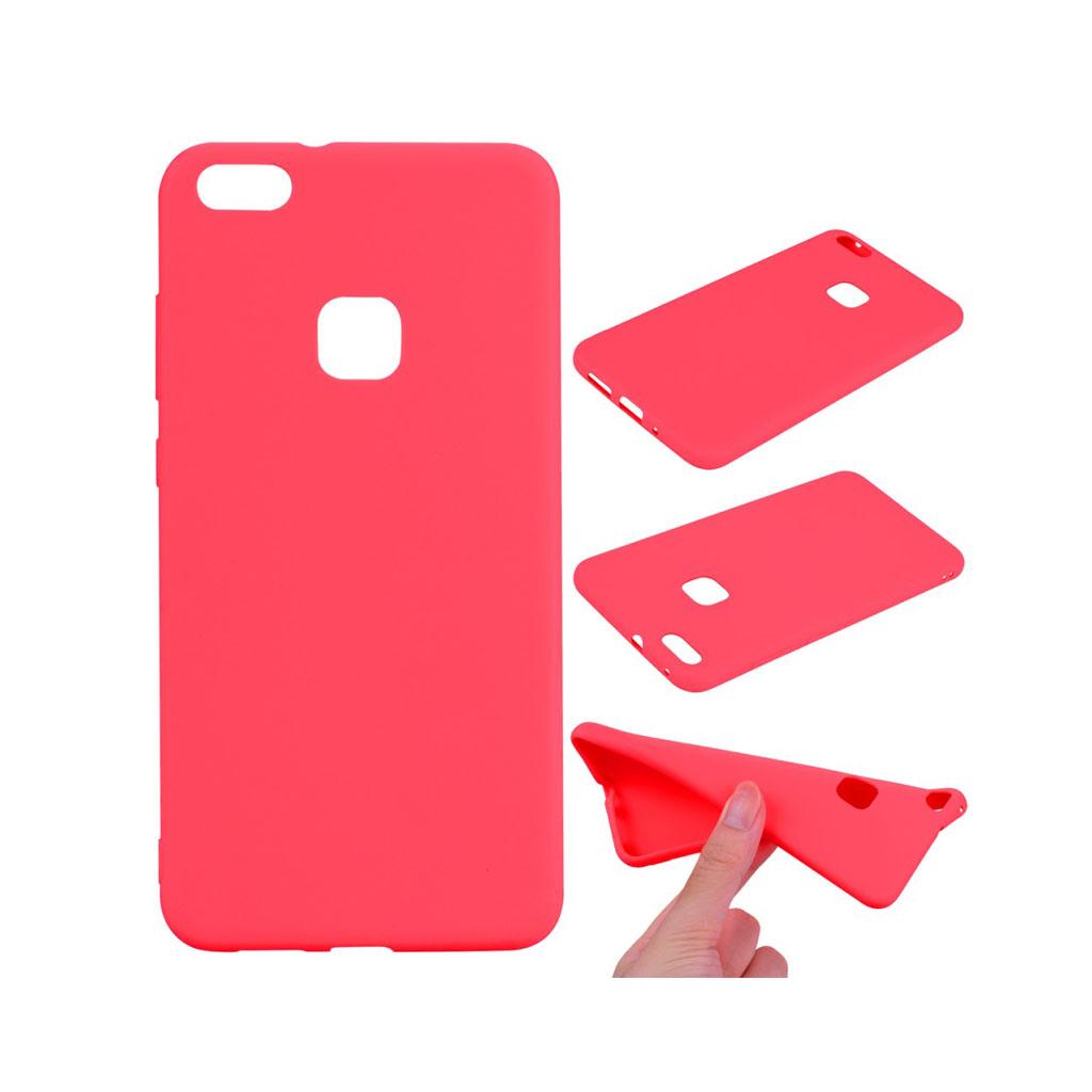 Image of   Huawei P10 Lite Lækker blødt silikone cover - Rød