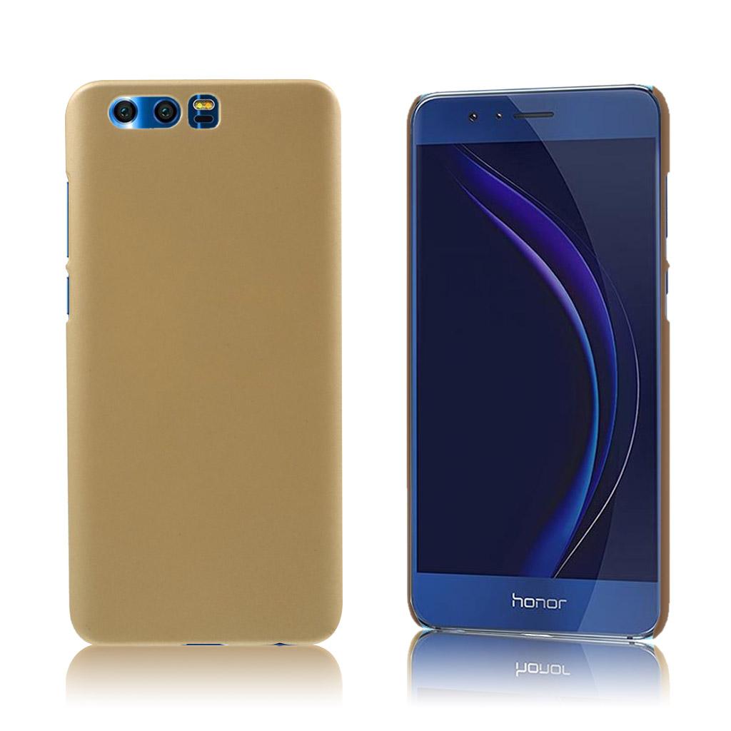 Huawei Honor 9 Elegant cover i flot farve - Guld