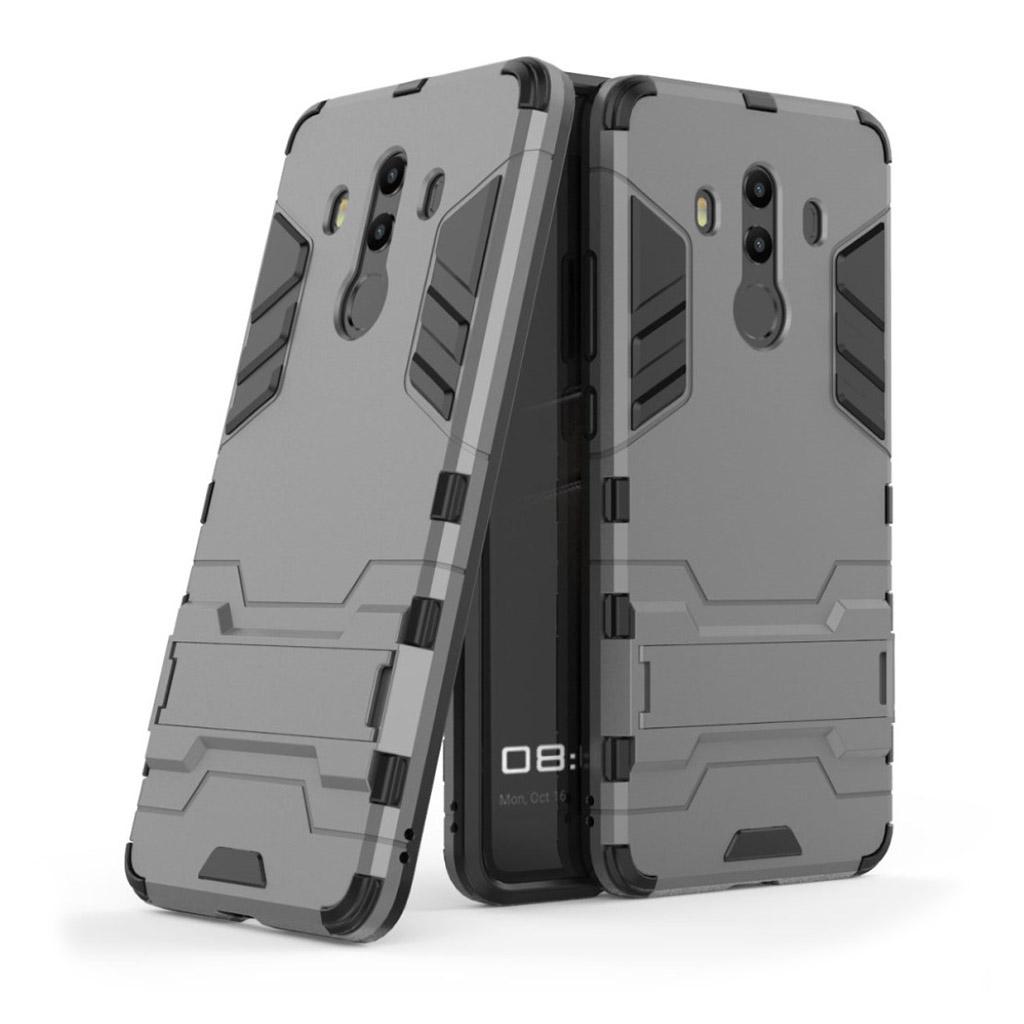Huawei Mate 10 Pro Plastik cover med kickstand - Grå