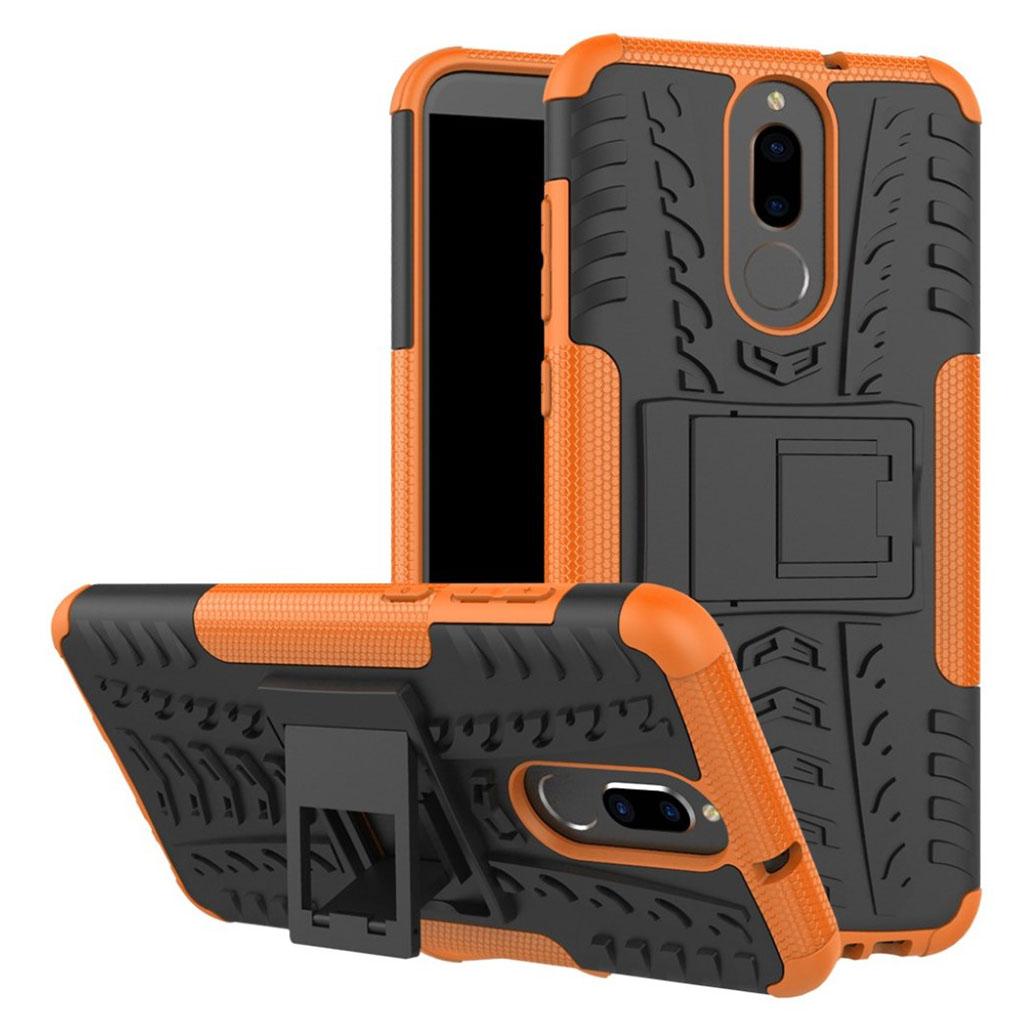 Huawei Mate 10 Lite hybridcover med kickstand - Orange