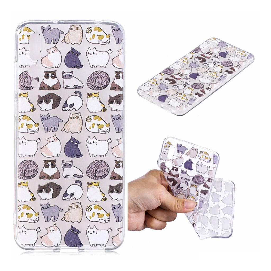IMD Huawei P20 Pro pattern printing case - Cartoon Animals