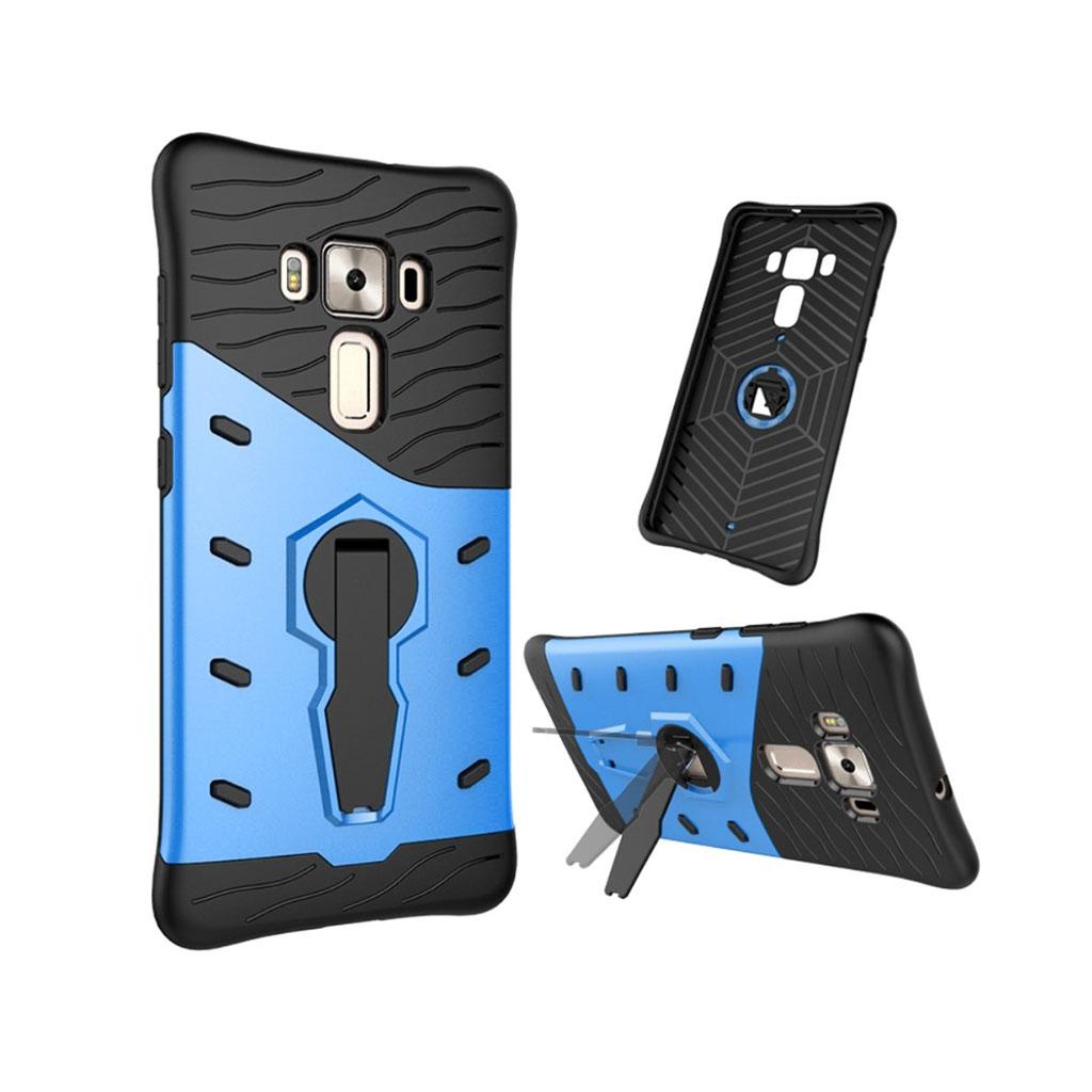 Asus Zenfone 3 Deluxe (ZS570KL) beskyttende hybridcover - Blå