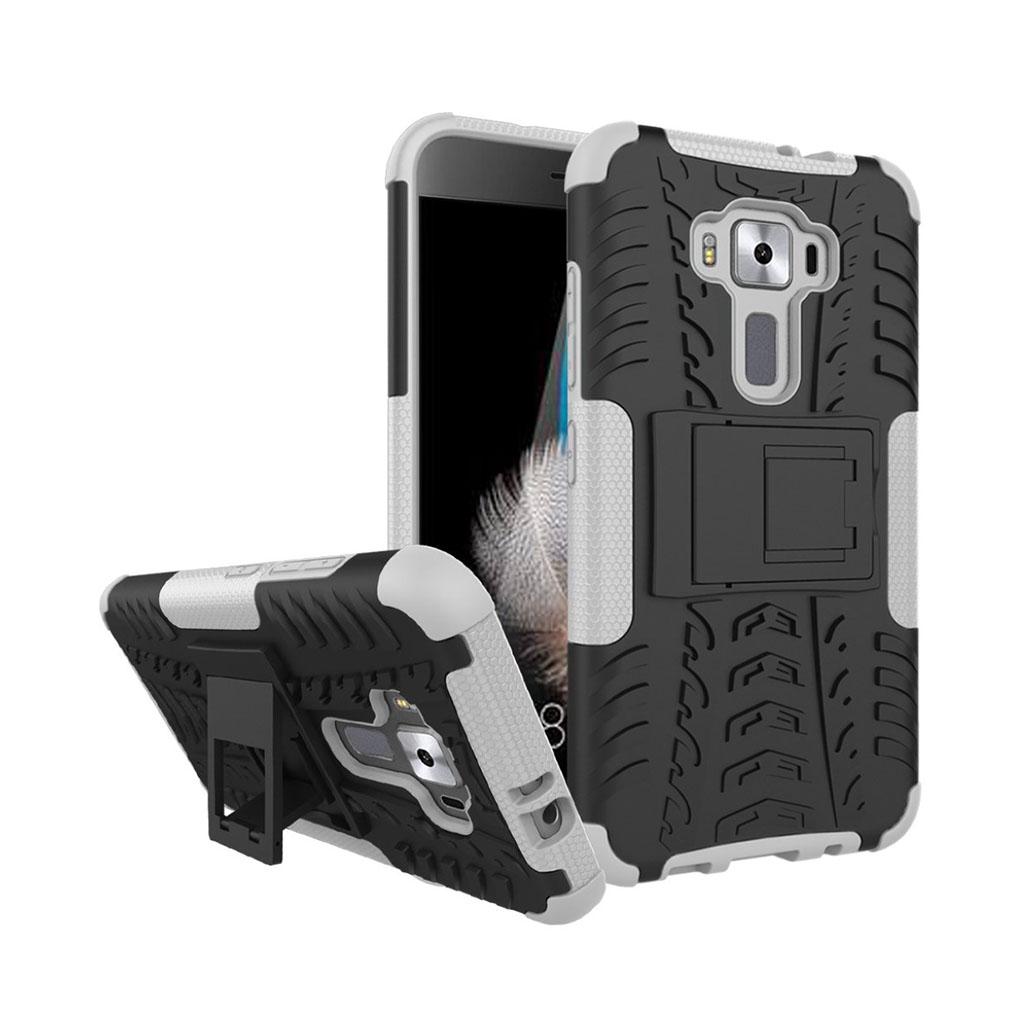 Asus Zenfone 3 (ZS570KL) solidt hybridcover - Hvid