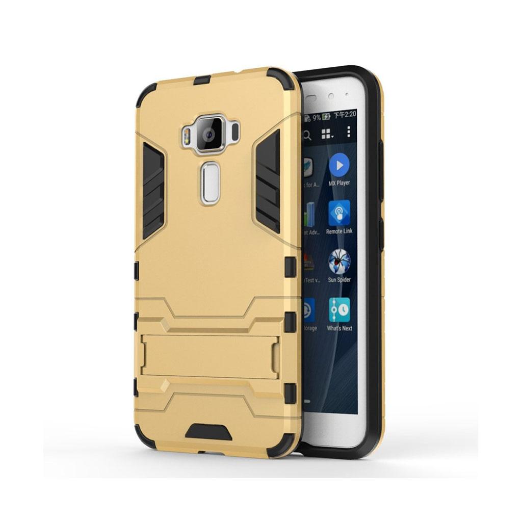 Asus Zenfone 3 (ZS570KL) beskyttende hybridcover - Guld