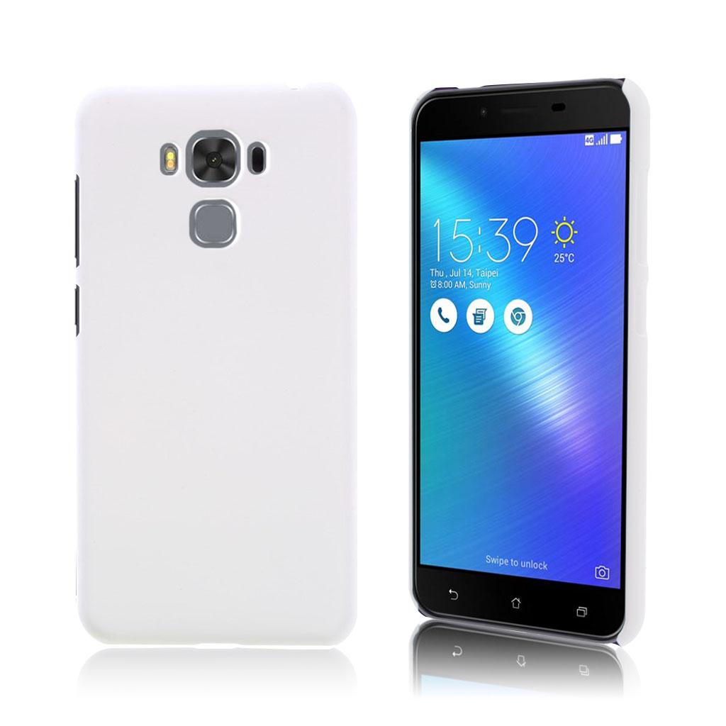 Asus Zenfone 3 Max (ZS5KL) stilfuldt silikonecover - Hvid