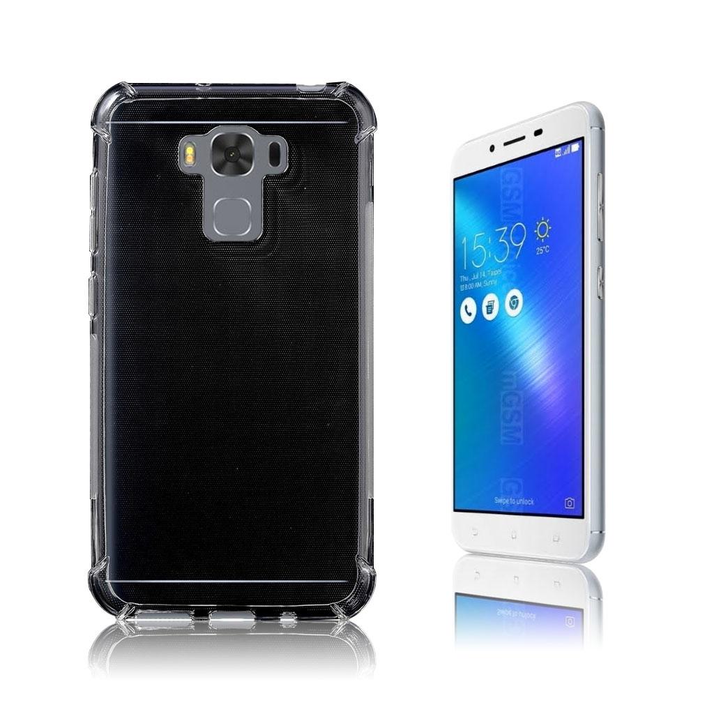 Asus Zenfone 3 Max (ZS5KL) Stilrent silikonecover - Gennemsigtig