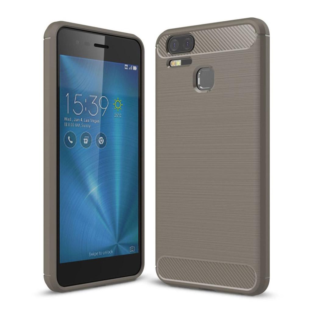 Asus Zenfone Zoom S (ZE553KL) Holdbart cover med et chic look - Grå