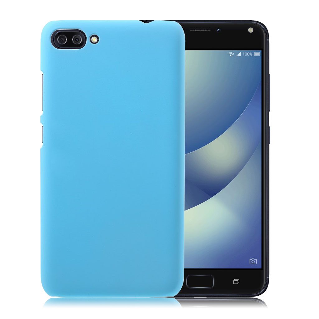 ASUS Zenfone 4 Max 5.5 (ZC554KL) beskyttende plastik cover - Babyblå