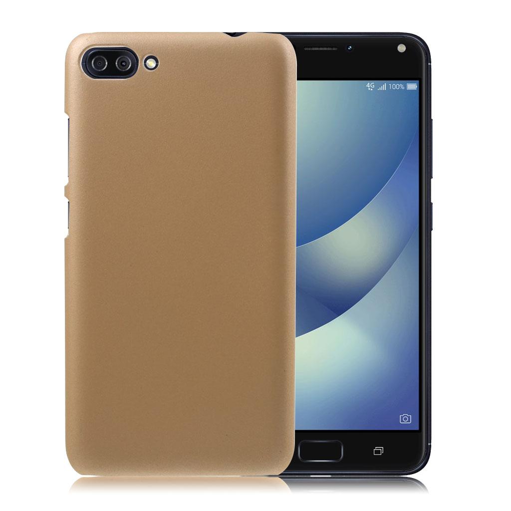 ASUS Zenfone 4 Max 5.5 (ZC554KL) beskyttende plastik cover - Guld farvet