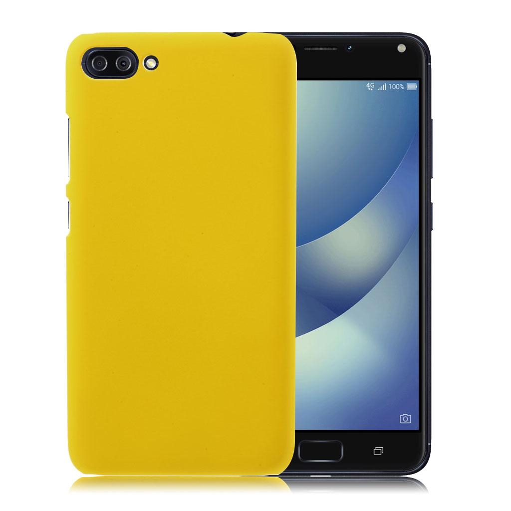 ASUS Zenfone 4 Max 5.5 (ZC554KL) beskyttende plastik cover - Gul