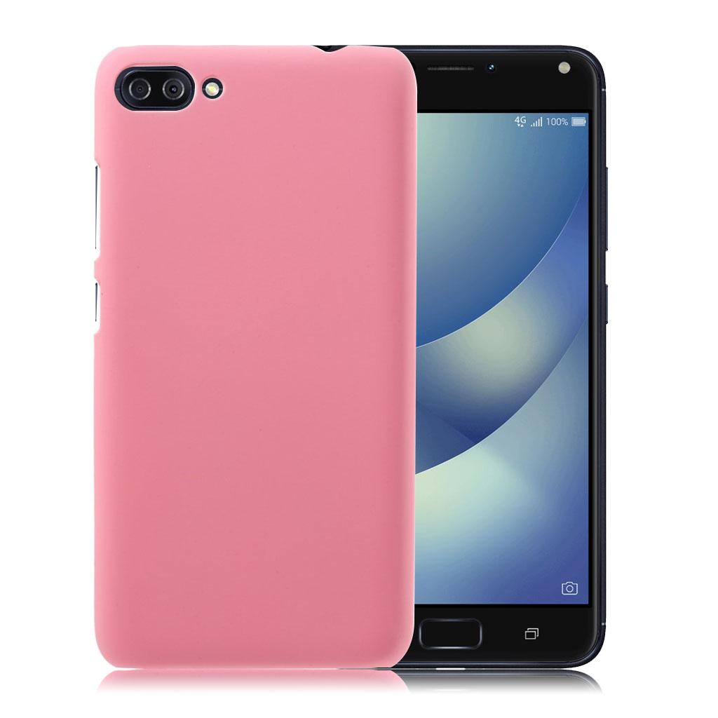 ASUS Zenfone 4 Max 5.5 (ZC554KL) beskyttende plastik cover - Lyserød