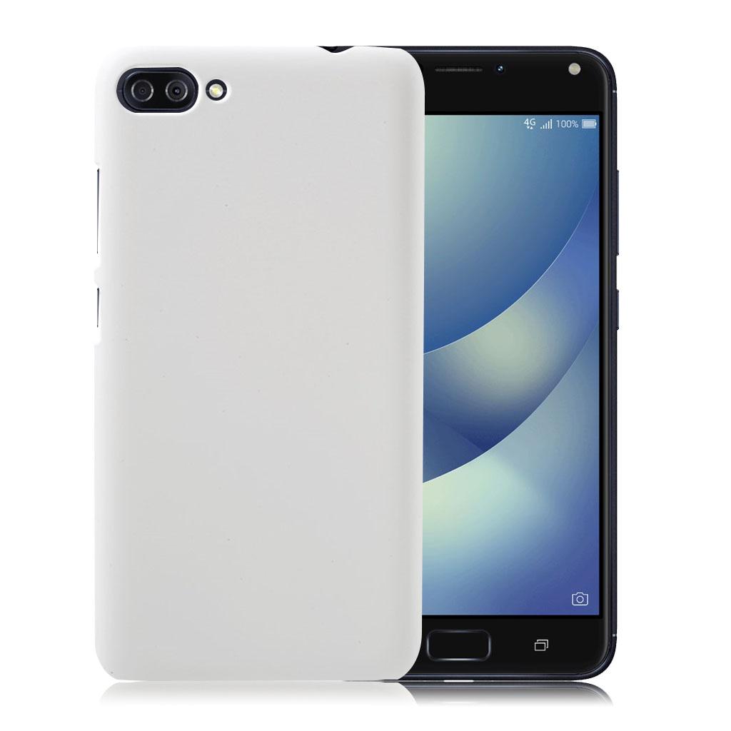 ASUS Zenfone 4 Max 5.5 (ZC554KL) beskyttende plastik cover - Hvid