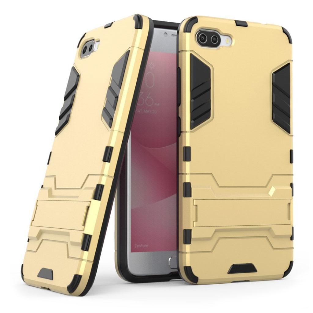 ASUS Zenfone 4 Max 5.5 (ZC554KL) Stødsikker hybridcover - Guld farvet