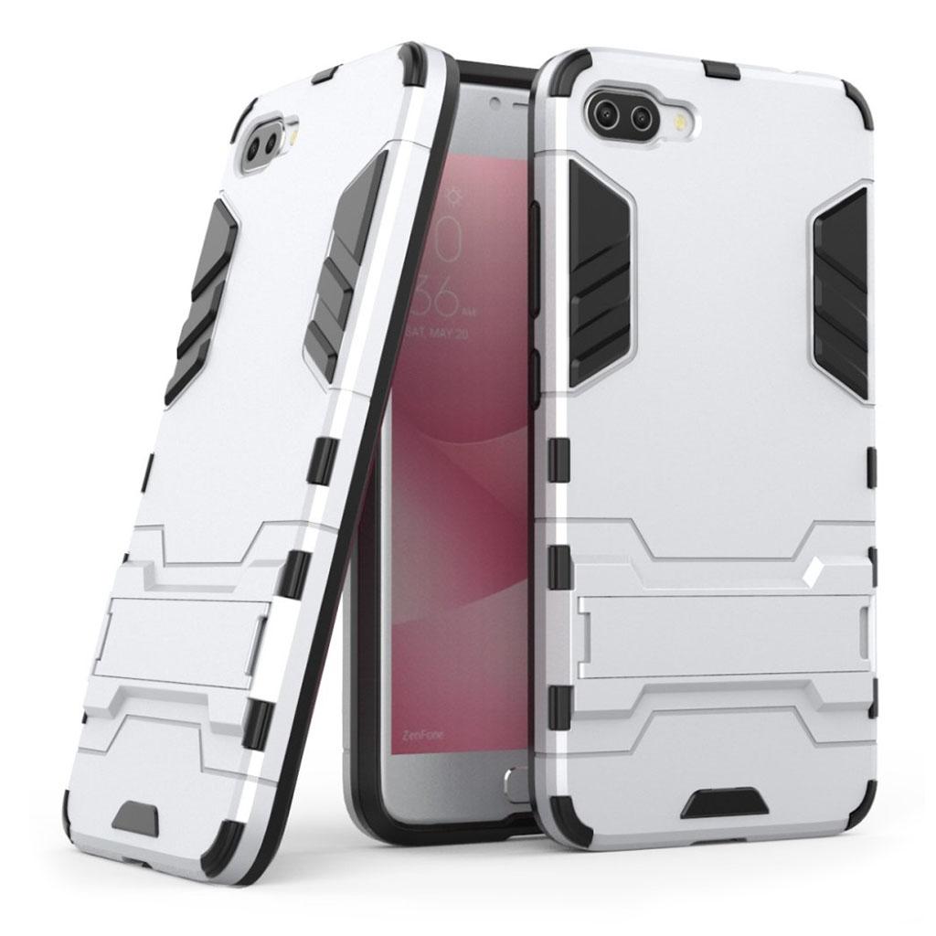 ASUS Zenfone 4 Max 5.5 (ZC554KL) Stødsikker hybridcover - Hvid