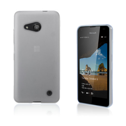 Image of   Thorsen TPU Microsoft Lumia 550 Soft Case - Semi-Transparent