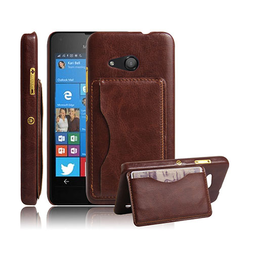 Kangaroo Microsoft Lumia 550 Hard Stand Case - Brown