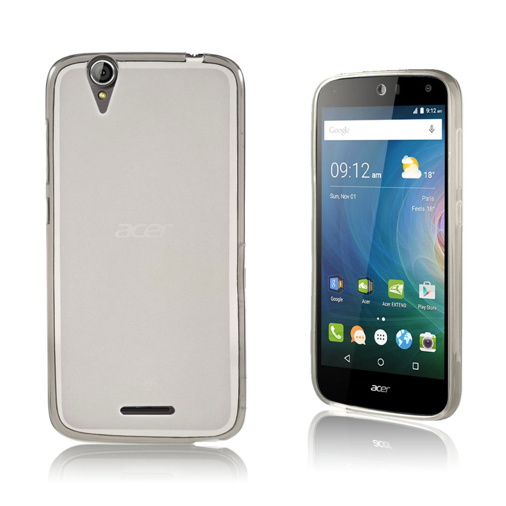 Image of   Acer Liquid Z630 matteret siliconecover - Grå