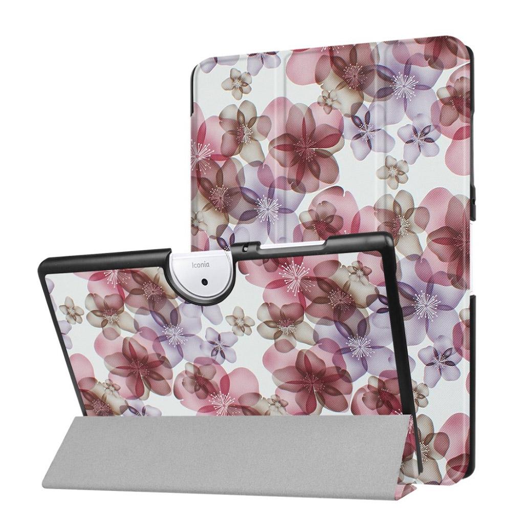 Image of   Acer Iconia Tab 10 B3-A40 Etui med tre-fold etui - Yndige blomster