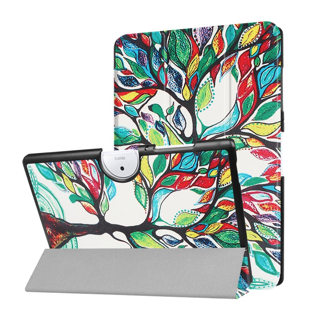 Image of   Acer Iconia Tab 10 B3-A40 Etui med tre-fold etui - Farve træ