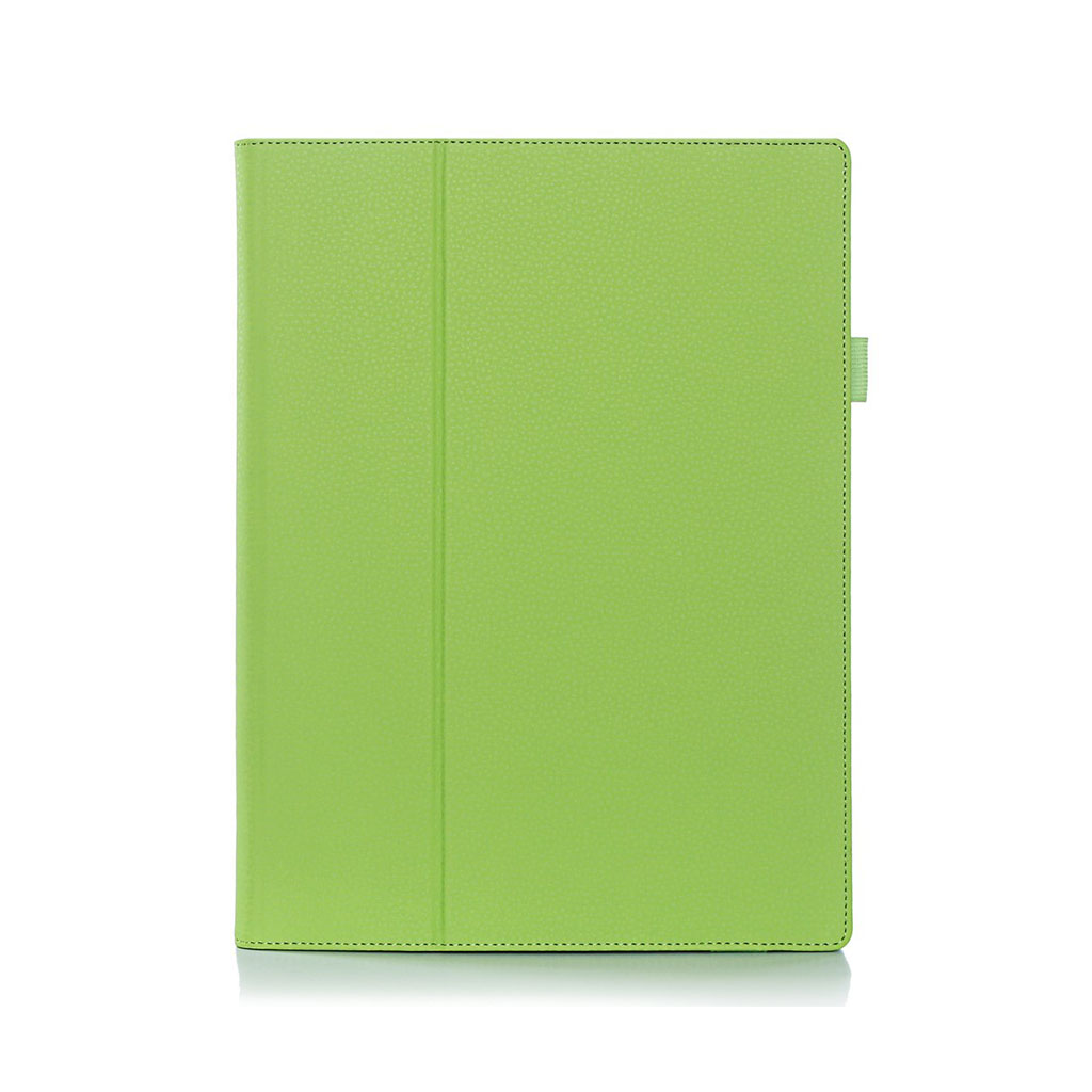 Image of   Edwardson flip-etui i læder til Lenovo Miix 700/Miix 4 - Grøn