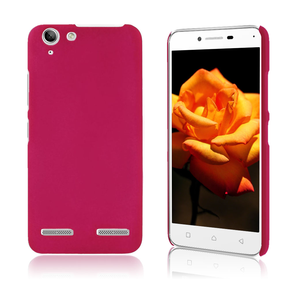 Image of   Christensen Lenovo K5 cover belagt med gummi - Hot Pink