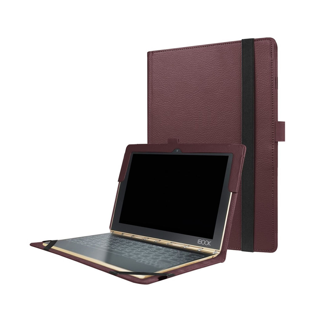 Image of   Edwardson Lenovo Yoga Book flip-etui - Brun