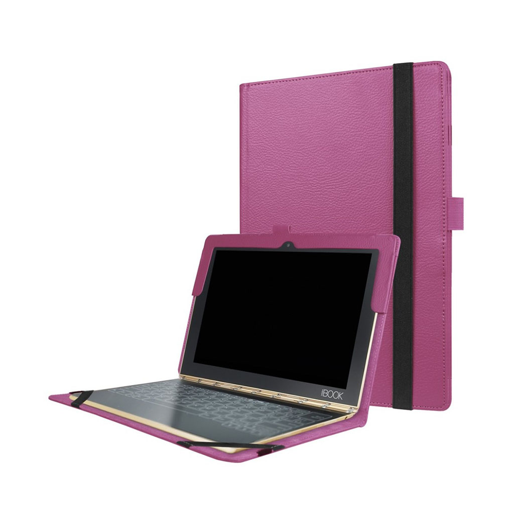 Image of   Edwardson Lenovo Yoga Book flip-etui - Lilla