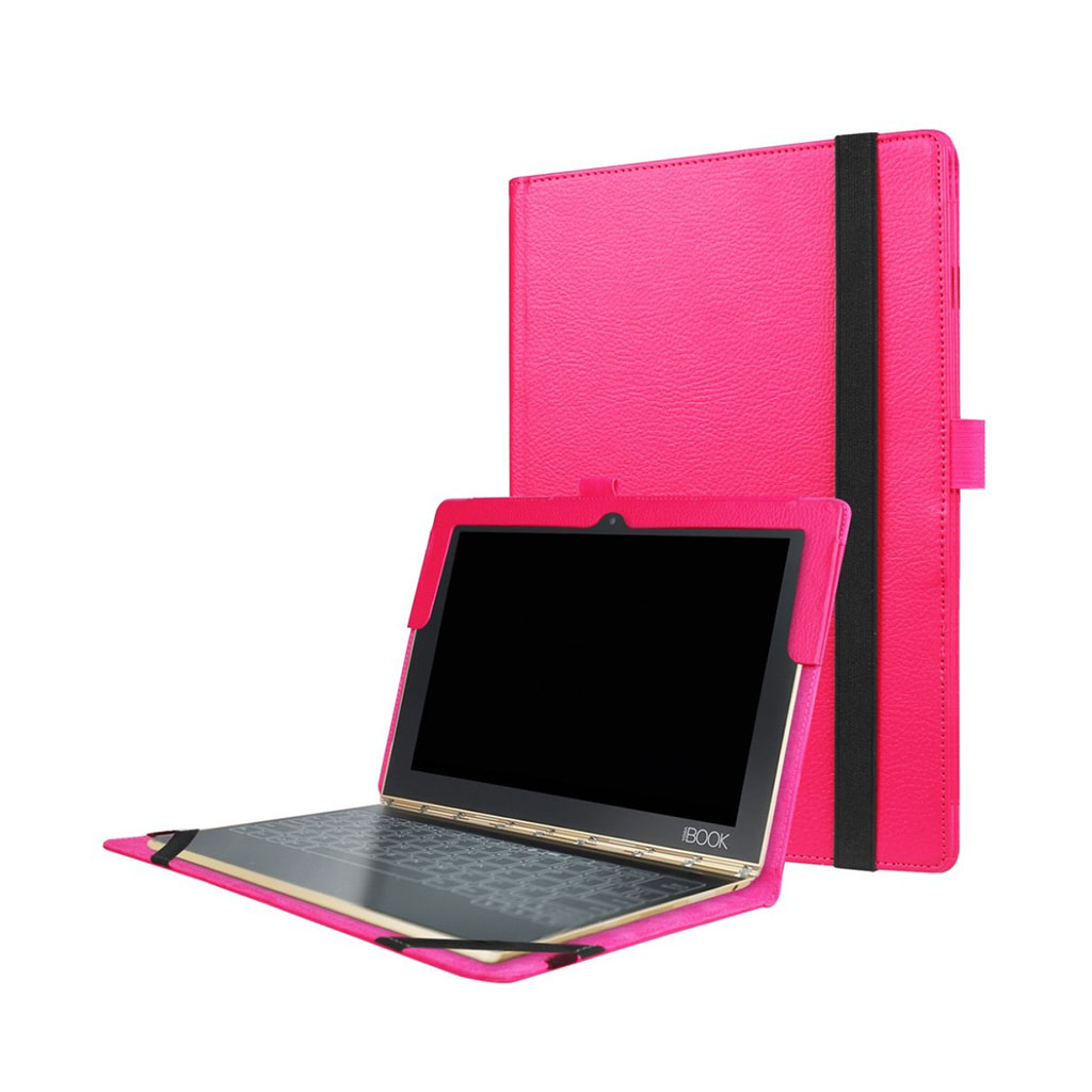 Image of   Edwardson Lenovo Yoga Book flip-etui - Hot Pink