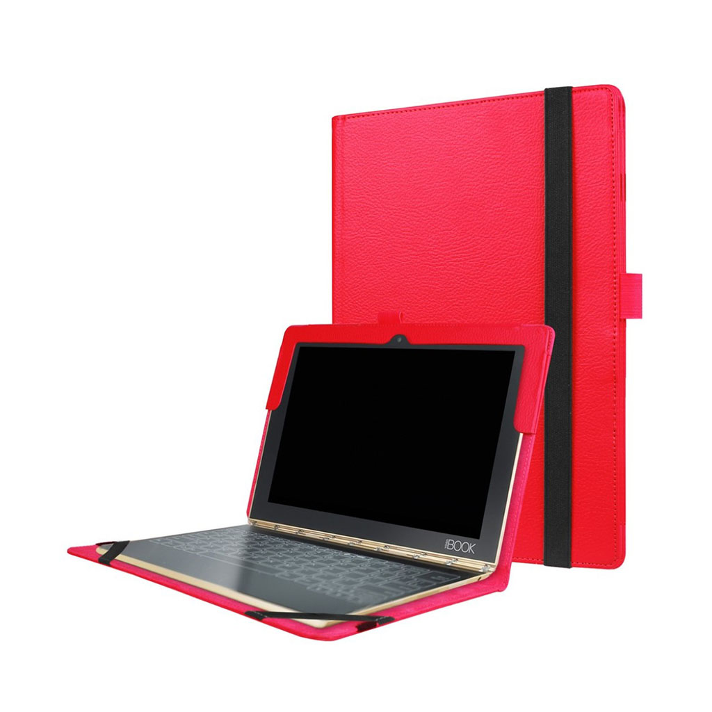 Image of   Edwardson Lenovo Yoga Book flip-etui - Rød