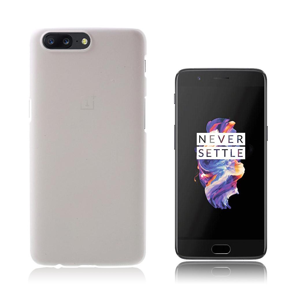 OnePlus 5 Smart og brugervenlig cover - Hvid