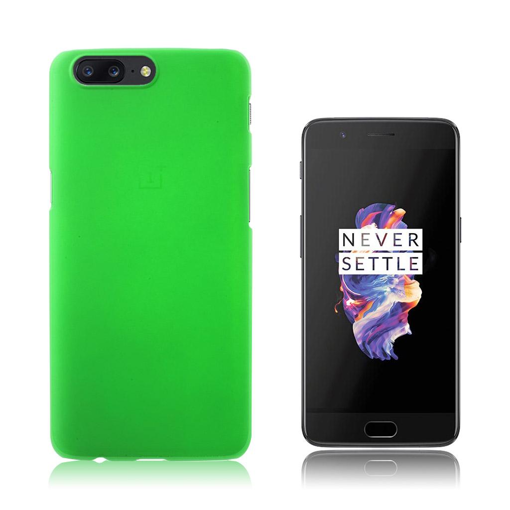 OnePlus 5 Smart og brugervenlig cover - Grøn