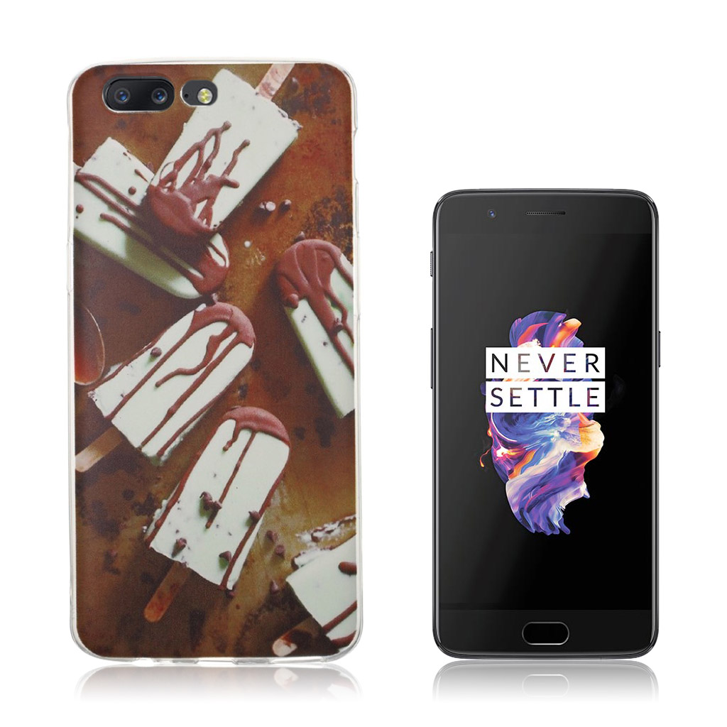 OnePlus 5 Ultra tyndt cover - Chokolde is