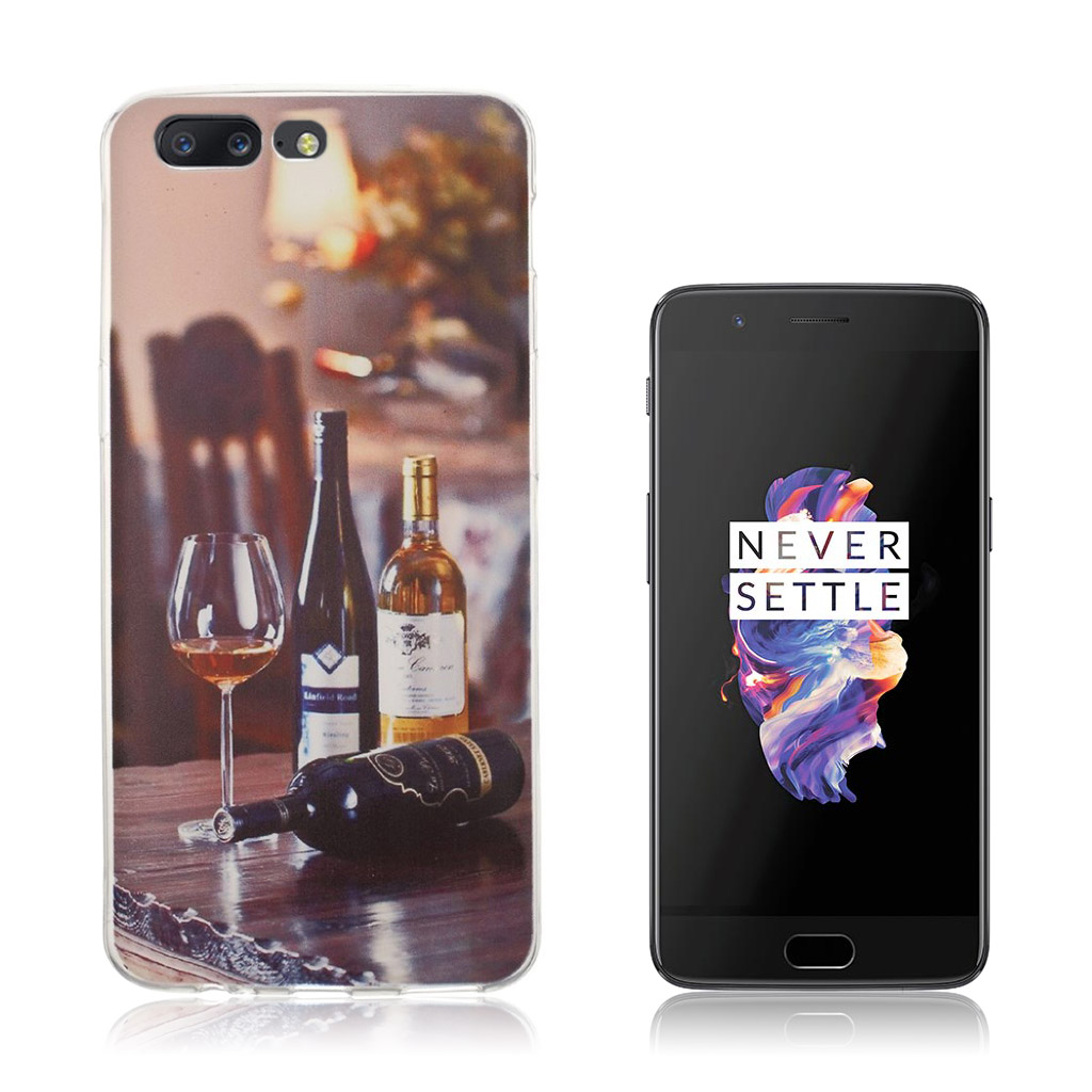 OnePlus 5 Ultra tyndt cover - Vin