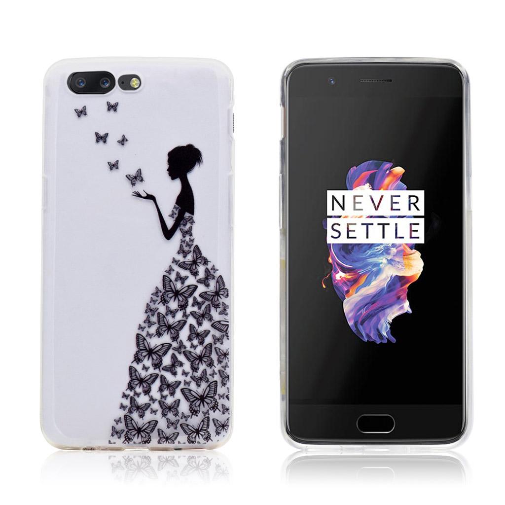 OnePlus 5 Flot og beskyttende cover - Sort skønhed